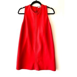Zara Collection  Sleeveless Mini Red Dress